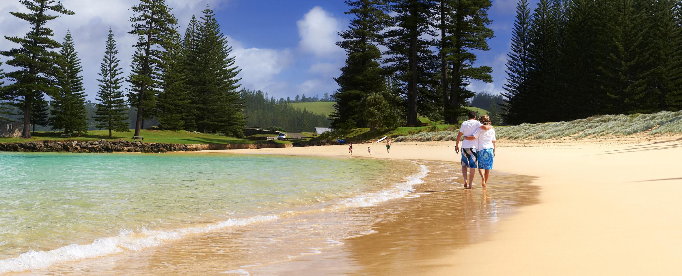 Emily Bay Lagoon beach