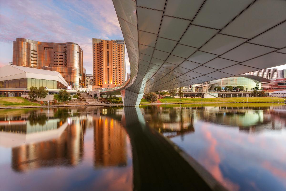 Adelaide City Skyline