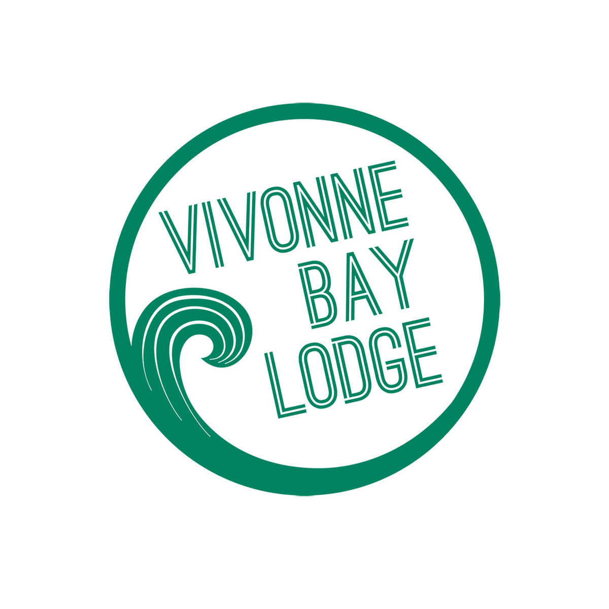 Square logo vivonne bay lodge