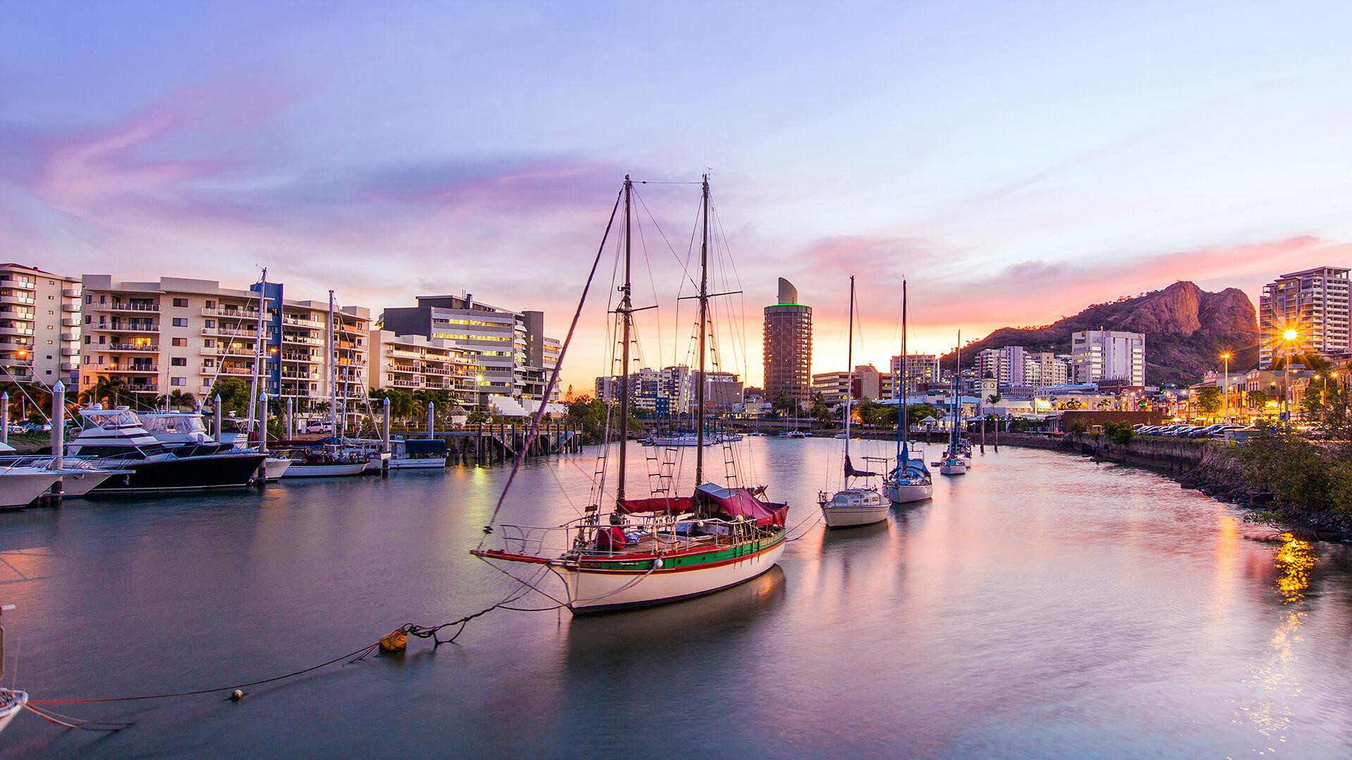 Townsville marina