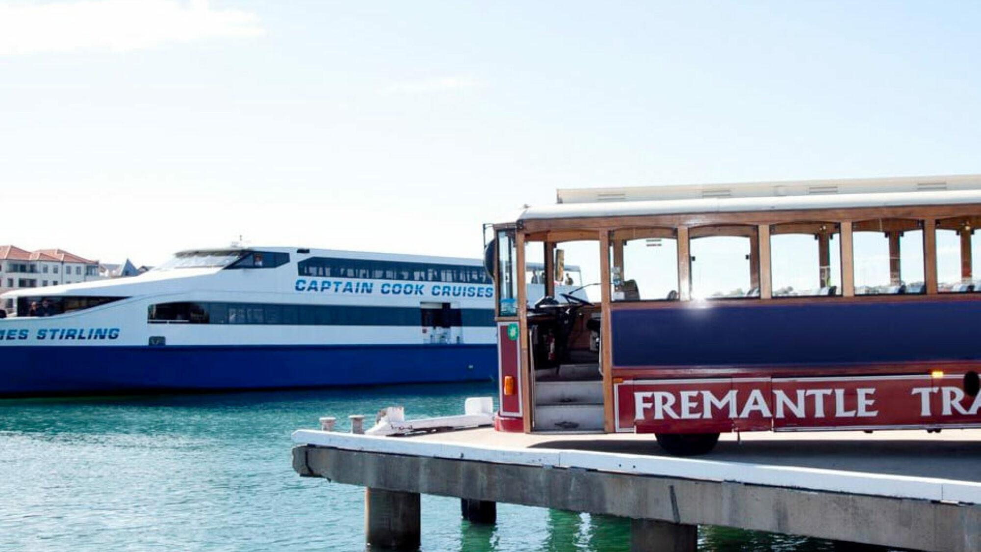 Fremantle museum tram