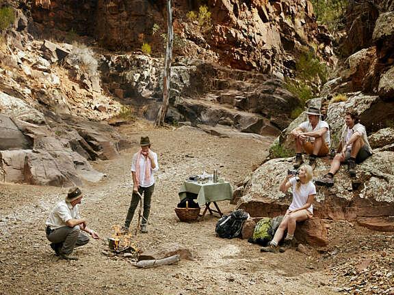 Flinders Camping