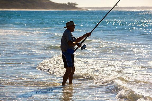Beach Fishing straddie