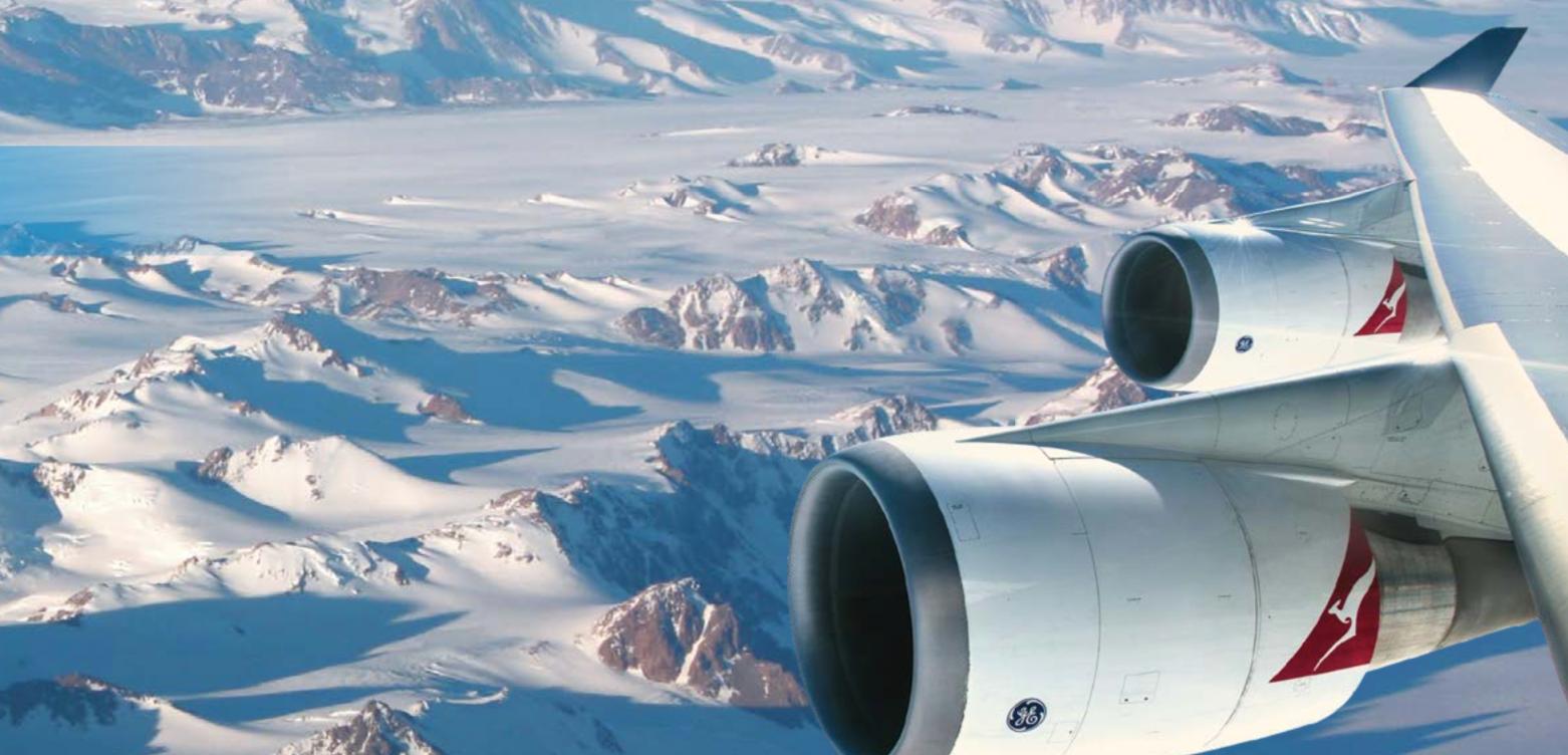 Antarctica qantas