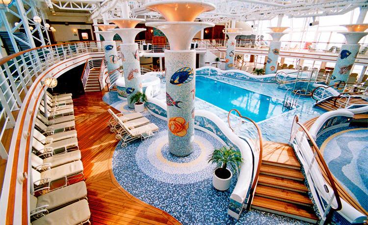 Sapphireprincess pool